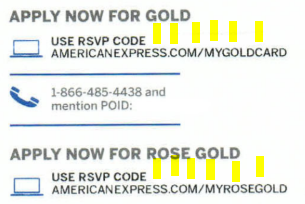 www.AmericanExpress.com/MyGoldCard – AMEX Gold Card and Rose Gold Card 50K Point Offer