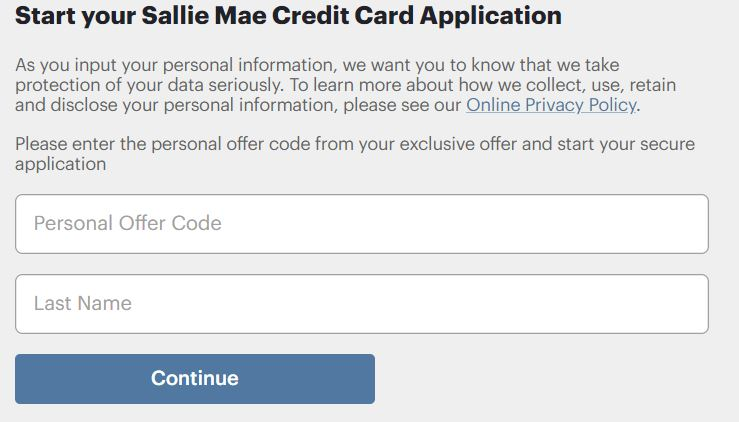 Sallie Mae Accelerate Prequalified Offer